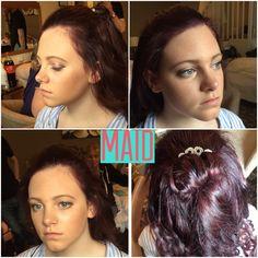 Maids hair and make up