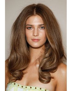 Versace runway hair...so pretty.