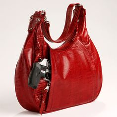 Handbags that give you easy gun access make me want to cry.