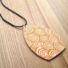 Patchwork Millefiori Polymer Clay Pendant £8.00