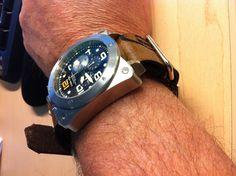 Leather NATO watch strap Handmade  custom