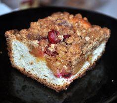 Pear Cranberry Kutchen