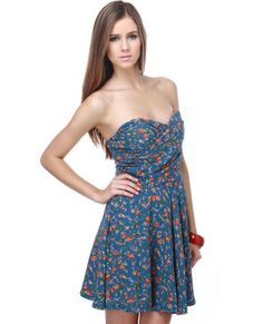 Summer Meadows Floral Dress. Lulus.com. $40.00.