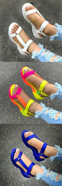 Trendy Sandals, Cute Sandals, Summer Wear, Summer Shoes, Double Strap Sandals, Hype Shoes, Teenager Outfits, Shoe Dazzle, Aesthetic Clothes