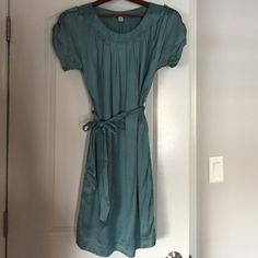 Teal/greenish dress Beautiful color and comfortable dress - with pockets Banana Republic Dresses