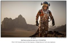 """In """"The Martian,"""" based on Andy Weir's 2011 novel about an astronaut (Matt Damon) stranded on Mars and the NASA folks trying to rescue him, Scott spends most of the film on the Red Planet, but he keeps the story flowing with plenty of drama happening on Earth and on a ship heading home. Scott spoke about the film and his career at the Toronto International Film Festival."""
