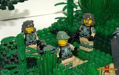Halo 3 Vignette: Sierra-117 Landing: A LEGO® creation by Justin Saber-Scorpion Stebbins : MOCpages.com