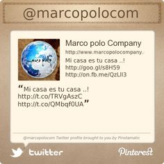 @marcopolocom's Twitter profile courtesy of @Pinstamatic (http://pinstamatic.com)