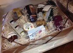 Christmas Hampers make great gifts... available from Shackletons Home and Garden, create your own or choose from some already made for your ease.