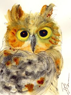 Shop for owl art from the world's greatest living artists. All owl artwork ships within 48 hours and includes a money-back guarantee. Choose your favorite owl designs and purchase them as wall art, home decor, phone cases, tote bags, and more! Owl Illustration, Illustrations, Owl Watercolor, Watercolor Paintings, Owl Paintings, Watercolors, Owl Artwork, Hummingbird Art, Great Horned Owl