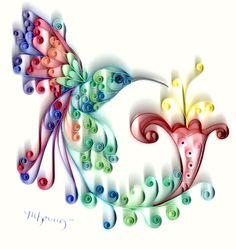 MY Designs - Paper Crafts: Hummingbird