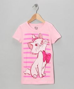 Take a look at this Light Pink Aristocat Tee - Girls by Disney on #zulily today!