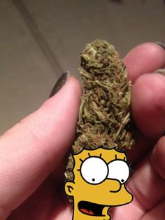 Marge's bud hair