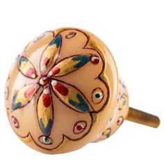 For a towel/garment rack with the one Jake and Camille got me?  Kashmir Painted Resin Round Knob
