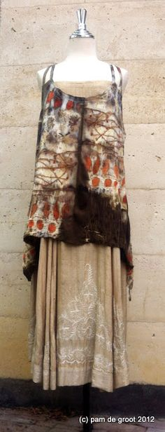 Pam de Groot: Somebody stop me!!! Beautiful eco dyeing