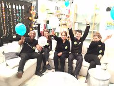 Walthamstow Mini Habitat staff are ready for our in-store event!