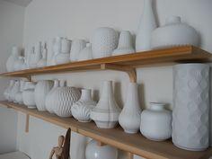 German op art vases