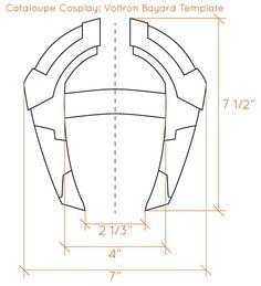 DIY -How to make your own Voltron Bayard Cosplay Armor, Cosplay Diy, Cosplay Makeup, Halloween Cosplay, Best Cosplay, Voltron Costume, Voltron Cosplay, Voltron Merch, Lance Cosplay