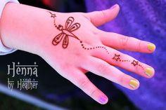 Simple Henna for children