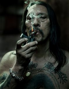 machete. this dude is so cool, i think.