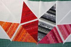 EmilyTheEnabler: Rainbow Fabric Fun: BOM Stringy Stars