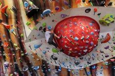 So ill climbing gym in St. Louis! I want to climb there!