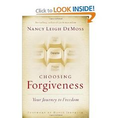 Choosing Forgiveness by Nancy Leigh DeMoss. I am not all the way through yet...But I can still tell it is definitely worth reading!