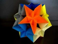 Complex Dodecahedron (Modular Origami)