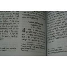 "Kiteba Piroz / Kurdish Bible / ""K?TÊBA PÎROZ"" / Kurdi (Kurdish:????) Pymana Kevin U Nu (Incil) / in Kurmanji dialect - Bi Kurdi Zaravaye Kurmanci  $74.99"
