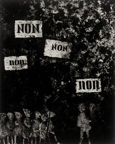 Mario Avati and Irwin Hollander, Non! 1963