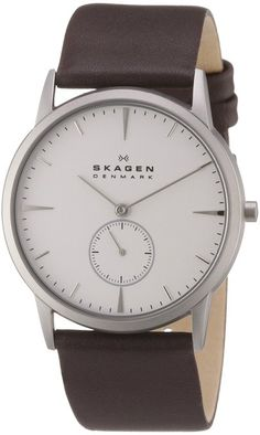 Skagen Men's 958XLSL Steel Steel Matte Silver Watch