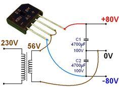 alimentation ultra simple pour ampli audio 2
