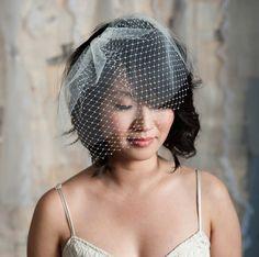 handmade, vintage inspired wedding veils and accessories from Tessa Kim