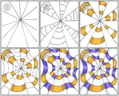 Op Art Example Step by Step