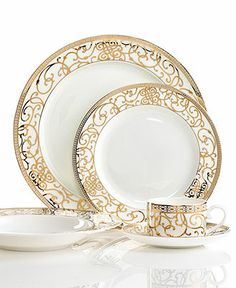 Cru Dinnerware, Athena Collection - Fine China - Dining & Entertaining - Macy's