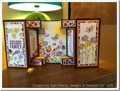 large square double display card - Google Search