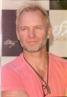 Sting-that is his color!