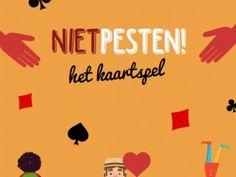 Speel nu het NietPesten kaartspel van Pestweb! U kunt het hier uitknippen en meteen aan de slag gaan.