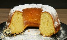 Greek Sweets, Greek Desserts, Yogurt Cake, Sponge Cake, Cornbread, Cake Recipes, Recipies, Food And Drink, Sugar
