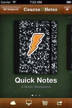 note taking app