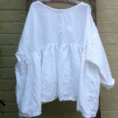 Prairie Linen Shirt Oversized to Fit Most by MegbyDesign on Etsy