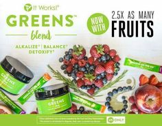 It's time for the #BOOM ! Green Carpet has delivered... & Greens just got GREENER !  ✅ Allergen Free ✅ 2.5x as many fruits ✅ Added Spirulina & Parsley ✅ 4x the fiber ✅ 55% MORE fruits & veggies!  (Available NOW in the US!)
