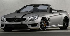 German Wheelsandmore continues with processing Mercedes cars. so is turn came, on the new SL 63 AMG. So, this SL got Armageddon Matte Gray exterior, black racing strip, 6Sporz ² 20-inch wheels (tires 255/30/20 and 305/25/20 Continental), sports exhaust system, modified suspension and engine boosted to 700 hp and 1100 nm of torque (data accelerat