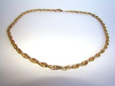 Necklace /  Whiting Davis / Gold / 28 Heavy Chain by EarlsBizarre