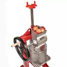 Lehman's Stainless Steel Cider Press, Fruit Presses - Lehman's Homemade Whiskey, Making Apple Cider, Mechanical Projects, Cider Press, Juicer Machine, All Stainless Steel, Homemade Tools, Antique Farmhouse, Cool Inventions