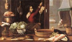 """Sebastian Stoskopff, Alsatian painter, """"Les quatre éléments ou L'hiver"""" The Four Elements or Winter"""" c. 1650"""