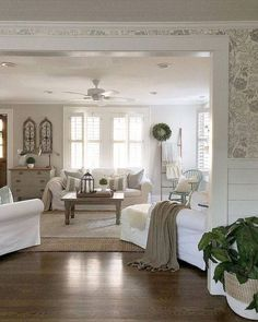 62 Cozy Farmhouse Living Room Decor Ideas