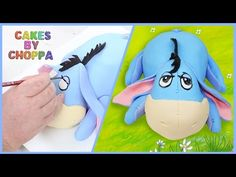 Eeyore Cake - Winnie The Pooh (How To) - YouTube
