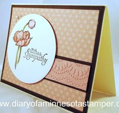 sympathy card by stamplady102 - Cards and Paper Crafts at Splitcoaststampers