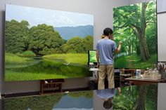 NatureTree Paintings By An Jung Hwan #artpeople